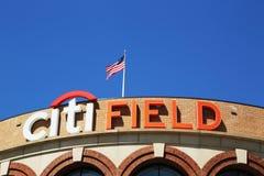 Поле Citi, дом команды высшей лиги бейсбола New York Mets в топить, NY стоковые изображения rf