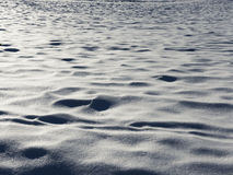 Поле Snowy Стоковое Изображение RF