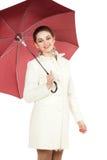 Под защитой зонтика Стоковые Фотографии RF