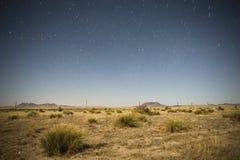 Под звездами стоковая фотография rf