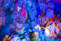 Подземелье Ludi Yan Dripstone, Китай стоковая фотография