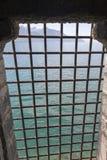 Подземелья замка Chillon, Швейцарии стоковое фото rf