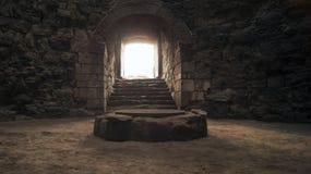 Подземелья Yedikule Стоковые Изображения