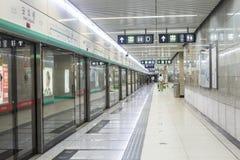 подземка пассажиров автомобиля Пекин Стоковые Изображения
