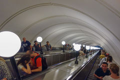 подземка станции moscow Стоковые Фото