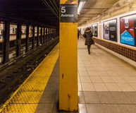 подземка york города новая Стоковая Фотография
