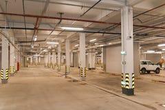 Подземная автостоянка Стоковое фото RF