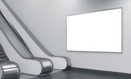 Подземная реклама Стоковое Изображение RF