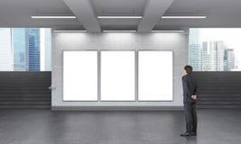 Подземная реклама Стоковое Изображение