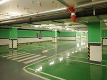 Подземная стоянка автомобилей Стоковое фото RF