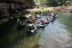 Подземное река Стоковые Изображения