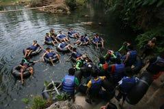 Подземное река Стоковые Фото