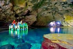 Подземно-минное река стоковая фотография