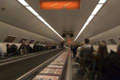 Подземный Будапешт Стоковые Фото