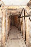 Подземный тоннель в Сараеве Стоковые Изображения