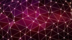Полигональная предпосылка Стоковые Изображения RF