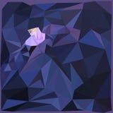 Полигональный цветок Стоковая Фотография RF