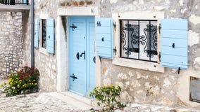 Подлинная квартира Хорватии в старом городке Стоковая Фотография RF