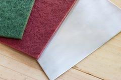 Полируя пусковые площадки для делают волосяный покров Стоковая Фотография