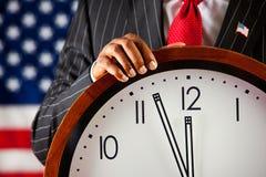 Политик: Близко к полночи Стоковое Изображение RF