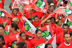 Политическая кампания Кабо-Верде Стоковые Изображения RF