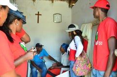 Политическая кампания Кабо-Верде Стоковое Изображение