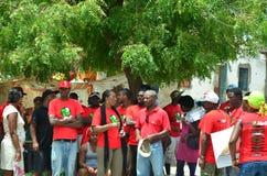 Политическая кампания Кабо-Верде Стоковое Изображение RF
