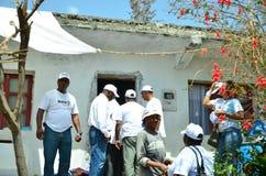 Политическая кампания Кабо-Верде Стоковое фото RF
