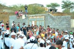 Политическая кампания Кабо-Верде Стоковая Фотография RF