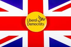 Политическая партия либеральных демократов Стоковые Изображения