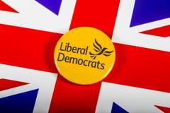 Политическая партия либеральных демократов Стоковые Изображения RF