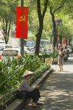Политическая пропаганда, Вьетнам Стоковое Изображение RF