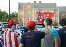 Политические сторонники Стоковое фото RF