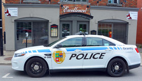 Полицейская машина Granby Стоковые Изображения