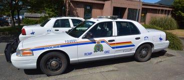 Полицейская машина Tofino RCMP Стоковое Изображение RF