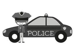 Полицейские Doodle Стоковые Фото