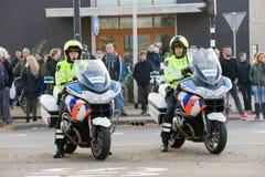 Полицейскии на мотоциклах Стоковое Изображение