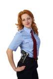 Полицейский женщины Стоковые Фотографии RF