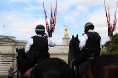 Полицейский на лошади Лондон Стоковые Изображения RF