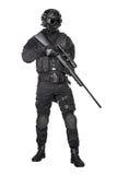 Полицейский СВАТ Стоковое Фото