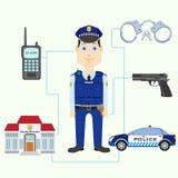 Полицейский Стоковые Изображения RF