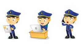Полицейский 3 Стоковое Изображение RF