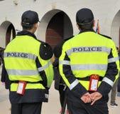 2 полицейския в Южной Корее Стоковая Фотография
