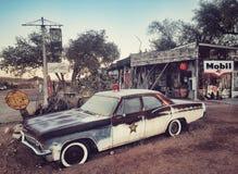 полиции автомобиля старые Стоковые Фотографии RF