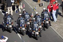 Полиции на мотоциклах Стоковые Изображения RF