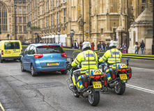 Полиции на обязанности Стоковая Фотография RF