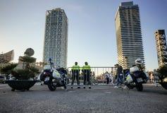 Полиция в Барселоне Стоковое Изображение RF