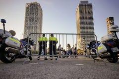 Полиция в Барселоне Стоковые Фотографии RF