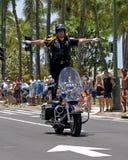 Полиция на балансе Стоковое Изображение