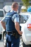 Полиция Новой Зеландии Стоковые Изображения RF